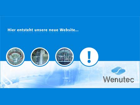 Wenutec Under Construction Webseite